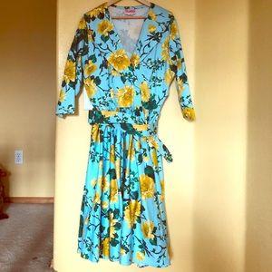 Birdie Dress 50s Pin-Up 🍒